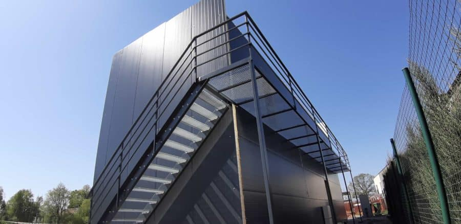 Metaliniai lauko laiptai